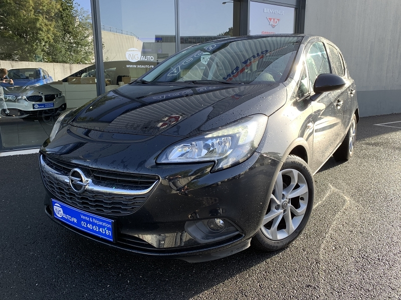 Opel CORSA 1.4 90CH EDITION START/STOP 5P Essence NOIR Occasion à vendre