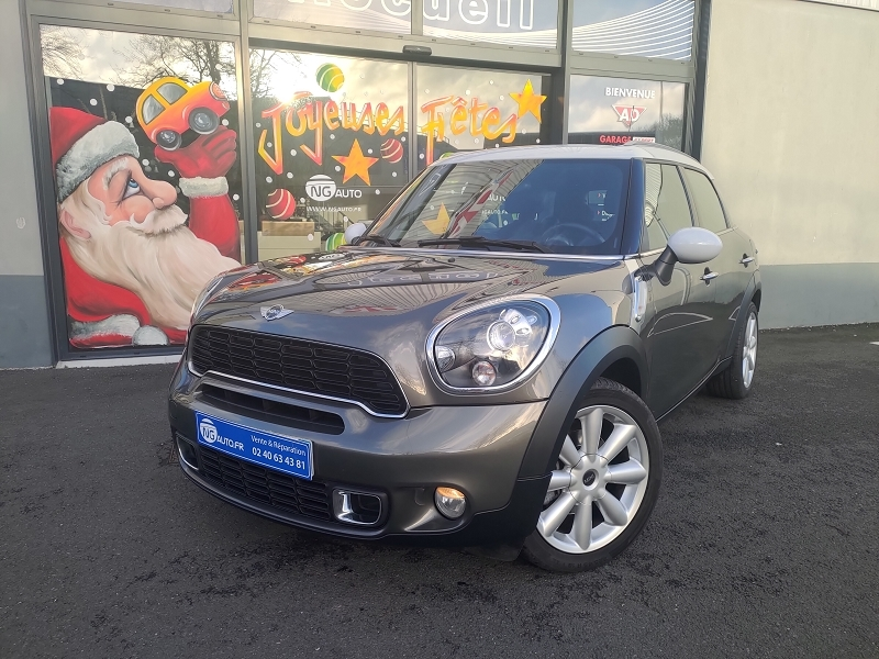 Mini COUNTRYMAN COOPER SD 143CH PACK RED HOT CHILI II Diesel ROYAL GREY Occasion à vendre