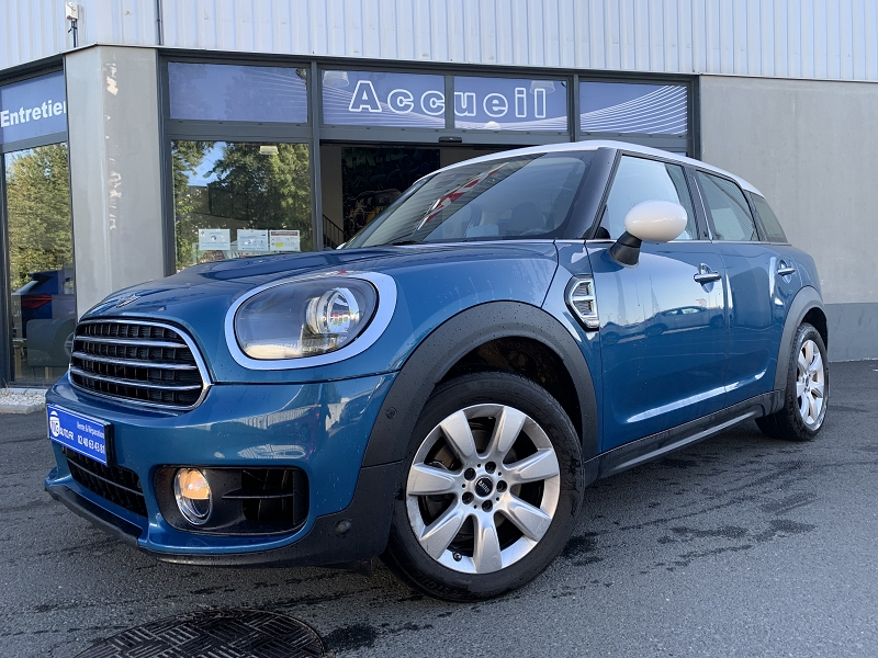 Mini COUNTRYMAN COOPER D 150CH BUSINESS EXECUTIVE BVA Diesel BLEU Occasion à vendre
