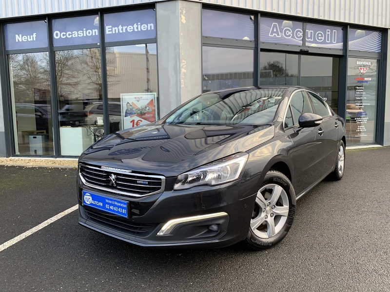 Peugeot 508 1.6 BLUEHDI 120CH ACTIVE BUSINESS S&S EAT6 Diesel GRIS HARIA Occasion à vendre