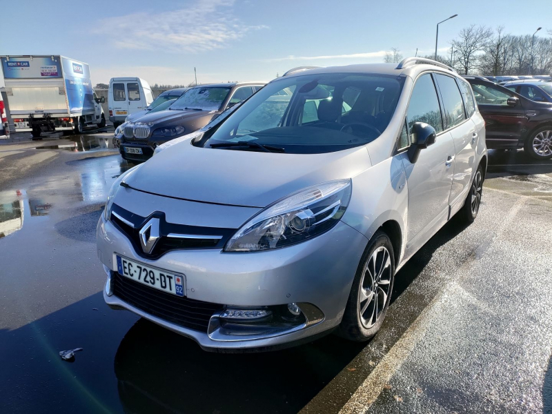 Renault GRAND SCENIC III 1.5 DCI 110CH ENERGY BOSE ECO² EURO6 7 PLACES 2015 Diesel GRIS CLAIR METAL Occasion à vendre